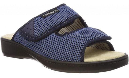 Podowell ADDAX zdravotní pantofle pro oteklé nohy modrá PodoWell Velikost: 36