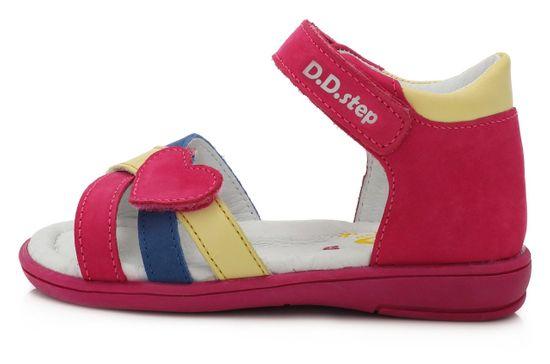D-D-step K03-789 sandale za djevojčice, kožne