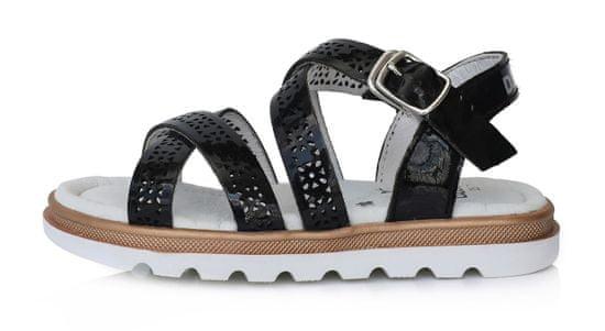 D-D-step AC63-912A dekliški sandali, usnjeni