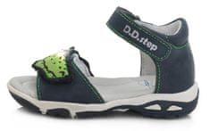 D-D-step AC290-476 fantovski sandali, svetleči, modri, 29