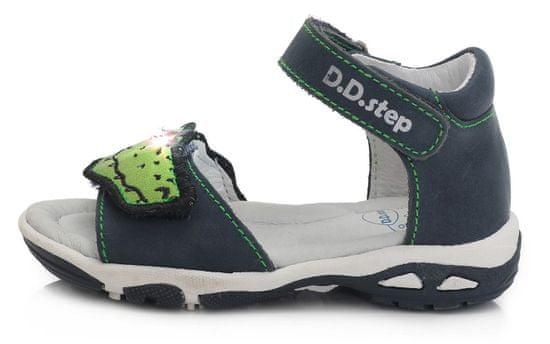 D-D-step AC290-476 sandale za dječake, svjetleće