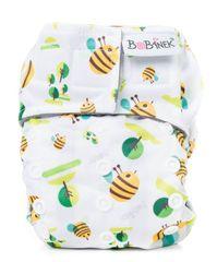 Bobánek pielucha AIO dla noworodka, na rzep - Pszczoły