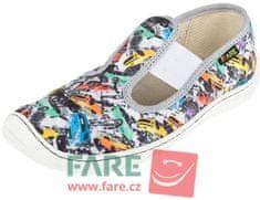 Fare fantovski barefoot copati 5101402/5201402-2, 31, večbarvni