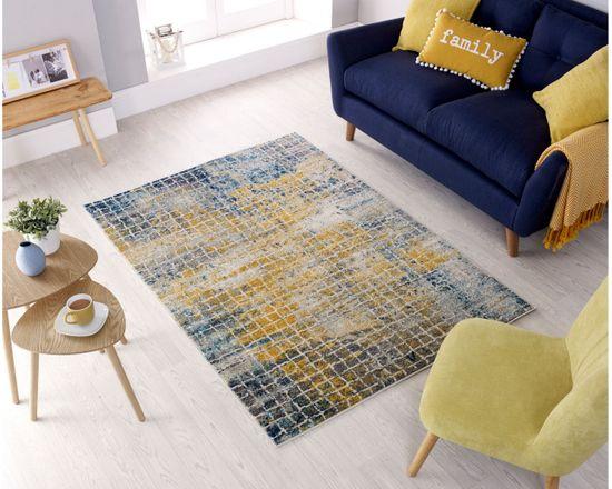 Flair Kusový koberec Urban Abstract Blue/Multi