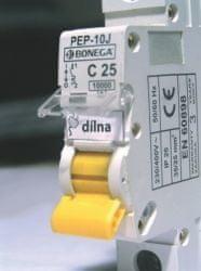 Bonega Jistič 6A jednofázový elektrický Bonega 02-1006C-PEP-6J C 6kA