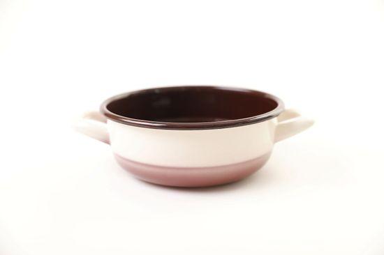 Metalac Classic posuda s 2 ručke, Ø 24 cm, 3,5 l, cappuccino
