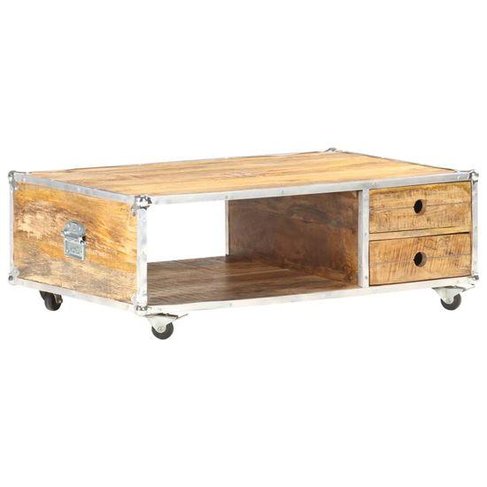 shumee miza mize 89x59x33 cm Masivni grobi les manga