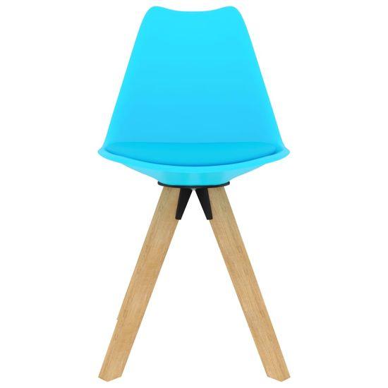 shumee 7-delna jedilnica, modra