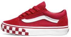 Vans tenisówki dziecięce JN Old Skool Check Bumper VN0A4UHZ32W1 35, czerwony