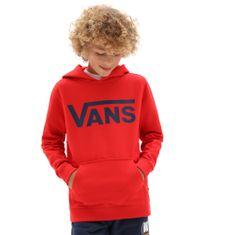 chlapčenská mikina By Vans Classic Po H High Risk VN0A45CNZ5F1 S červená