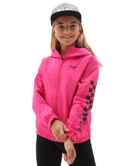 Vans dievčenské jarná bunda GR Girls Kastle Classic Windbreaker VN0A53OXFS41