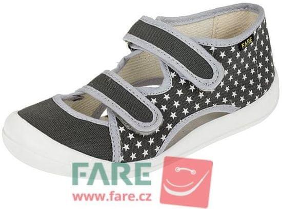 Fare dekliški platneni sandali 4118462