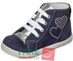 Fare lány magasszárú cipő 2151202, sötétkék, 21