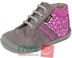 Fare lány magasszárú cipő 2121252, szürke, 21