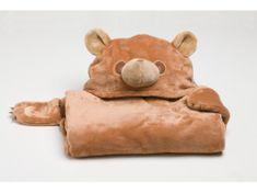 Alum online Detská nositeľná deka medveď