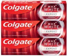 Colgate Max White Expert Original 3 x 75 ml