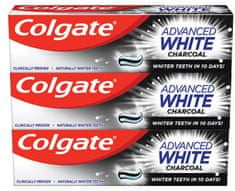 Colgate Advanced White Charcoal 3 x 75 ml
