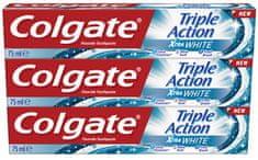 Colgate Triple Action White 3 x 75 ml