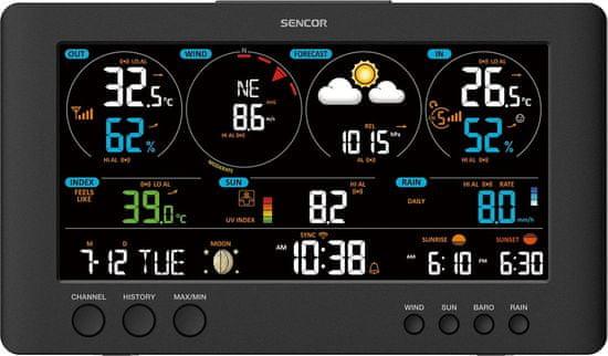 SENCOR SWS 12500 vremenska postaja