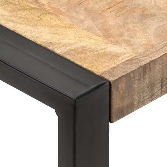 shumee jedilna miza 60x60x75 cm Masivni grobi les manga
