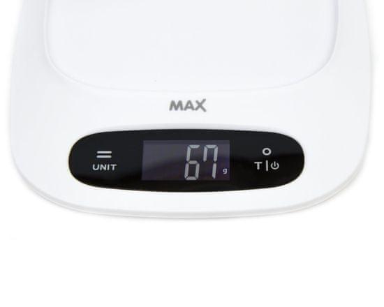 MAX Digitálna kuchynská váha (MKS1201W)