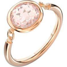 Swarovski Růžově pozlacený prsten Tahlia 5560948 (Obvod 60 mm)