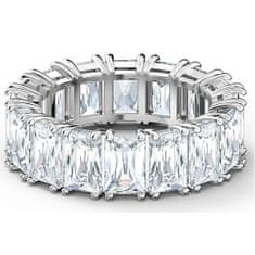 Swarovski Luxusní třpytivý prsten Vittore 5572699 (Obvod 50 mm)