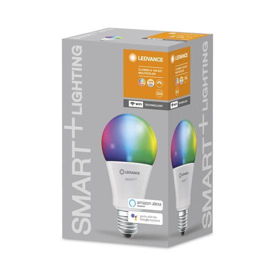 LEDVANCE SMART+ WiFi Classic Multicolour 100 14 W/2700…6500K E27