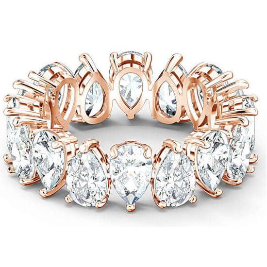 Swarovski Luxus csillogó gyűrű VITTORE 5586163