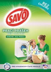 Savo Prací prášok na biele a farebné prádlo 5 kg (70 praní)