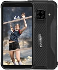 iGET Blackview GBV5100, 4GB/128GB, Black