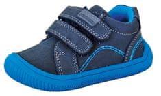 Protetika chlapecká kotníčková barefoot obuv Lars 72021 20 tmavě modrá