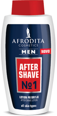 Kozmetika Afrodita Men Extra Sensitive losjon, po britju, 120 ml