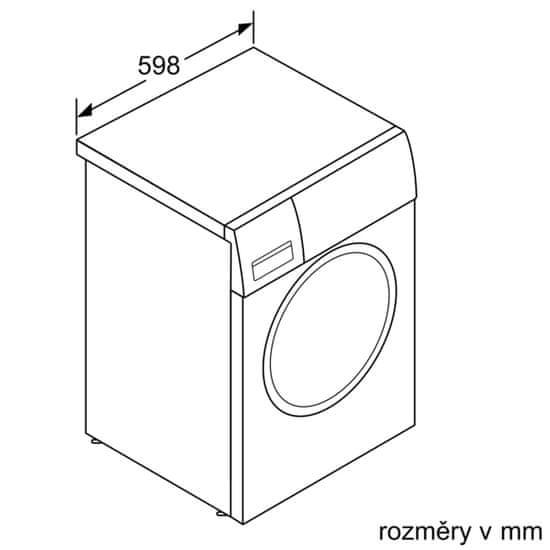 Bosch pračka WAT24460BY + 10 let záruka na motor
