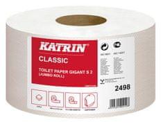 """Katrin Toaletní papír """"Classic Gigant S2"""", bílá, 2-vrstvý, maxi, 100 m, 12 rolí"""