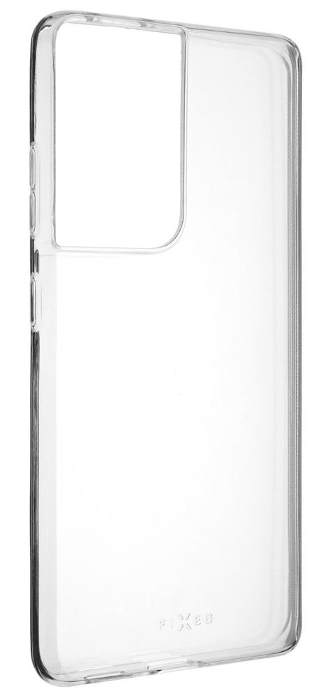 FIXED Ultratenké TPU gelové pouzdro Skin pro Samsung Galaxy S21 Ultra, 0,6 mm FIXTCS-632, čiré