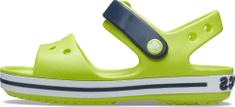 Crocs Crocband 12856-3TX gyerek szandál, 24/25, zöld