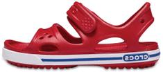 Crocs dívčí sandály Crocband 14854-6OE 24/25 červená