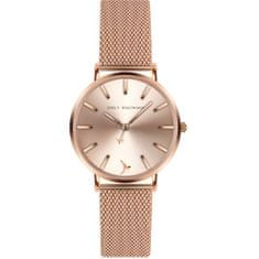 Emily Westwood American Praire Rose Gold Mesh Watch EBZ-3218