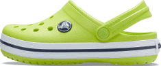 Crocs Crocband Clog K 204537-3TX otroški natikači, 38/39, zeleni