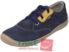 Fare dětské barefoot tenisky 5311201 tmavě modrá 33