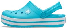 Crocs Crocband Clog K 204537-4SL fantovski natikači, 24/25, modri