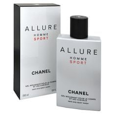 Chanel Allure Homme Sport - sprchový gel 200 ml