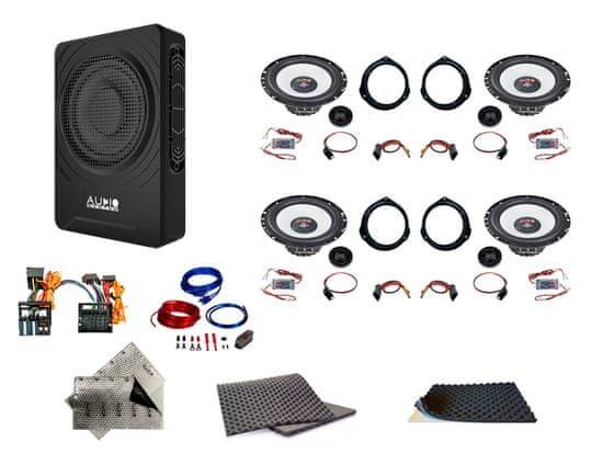 Audio-system SET - kompletní ozvučení do Mercedes-Benz VZOR - UPGRADE 2