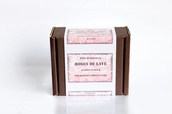 Mydlitto Roses De Lave - lávový šampuk na vlasy