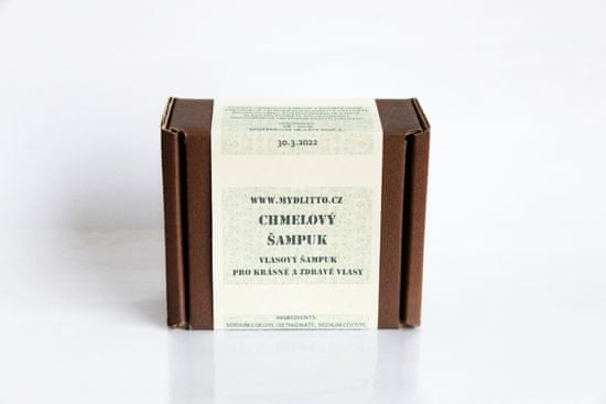 Mydlitto Chmelový šampuk s rozmarýnem