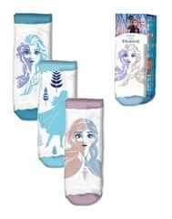 """EUROSWAN Dekliške gleženj nogavice Frozen 2"""" - 3 kos v paketu - 23–26"""