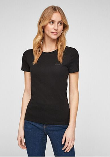 s.Oliver T-shirt damski Slim Fit 120.11.899.12.130.2060851.9999