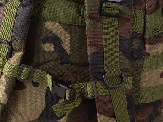 Maskirni nahrbtnik Lynx, vojaškimaskirni, 48,5 l, mornarsko zelena barva T-235-NA