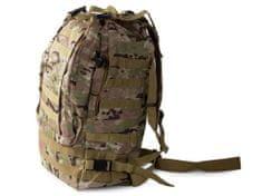 Maskáčový batoh Lynx, vojenská kamufláž - 48,5 l, zeleno šedá T-235-ZS